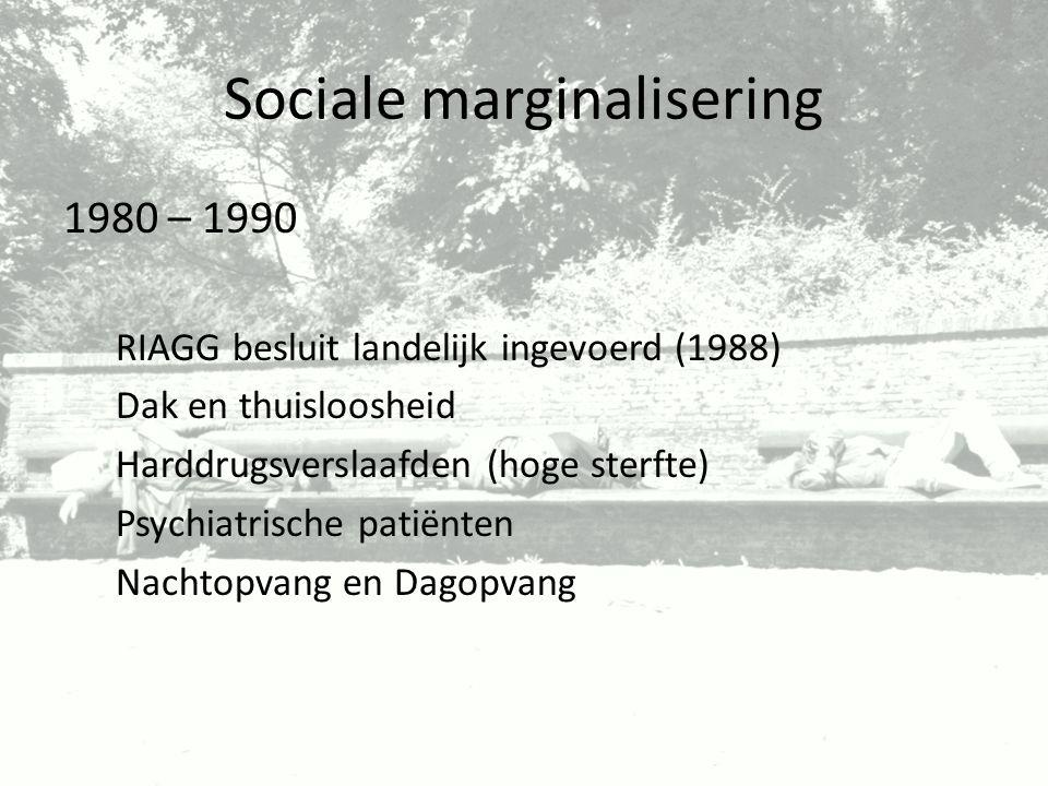 Sociale marginalisering