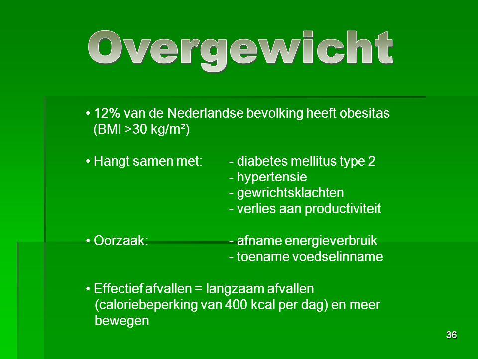 Overgewicht 12% van de Nederlandse bevolking heeft obesitas