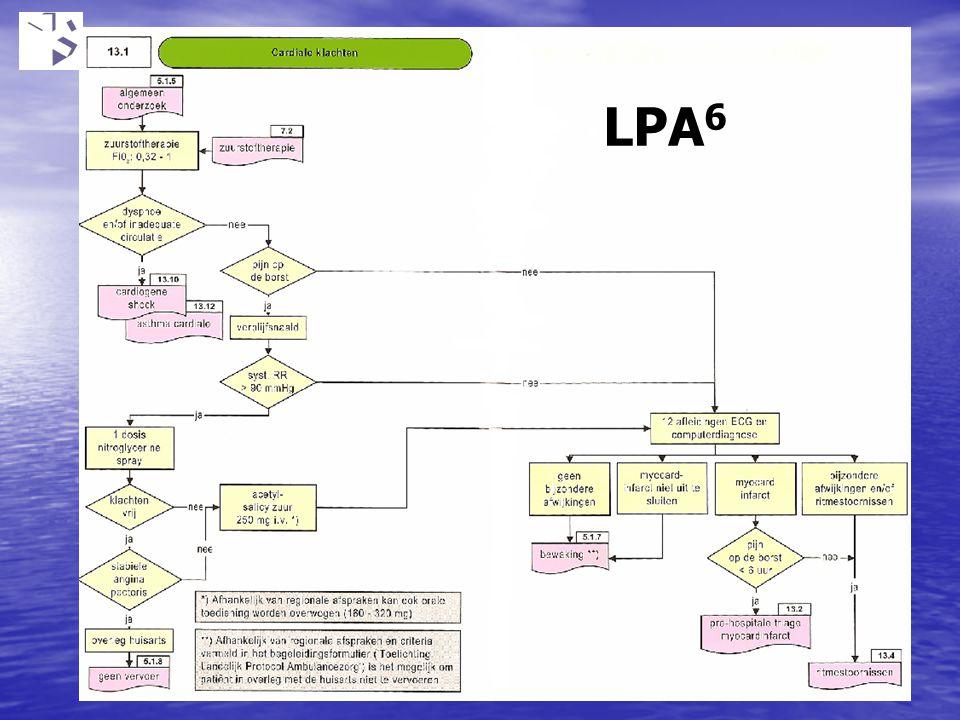 LPA6 Wat schrijft ons protocol voor bij een patient met PODB