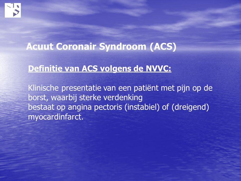 Acuut Coronair Syndroom (ACS)
