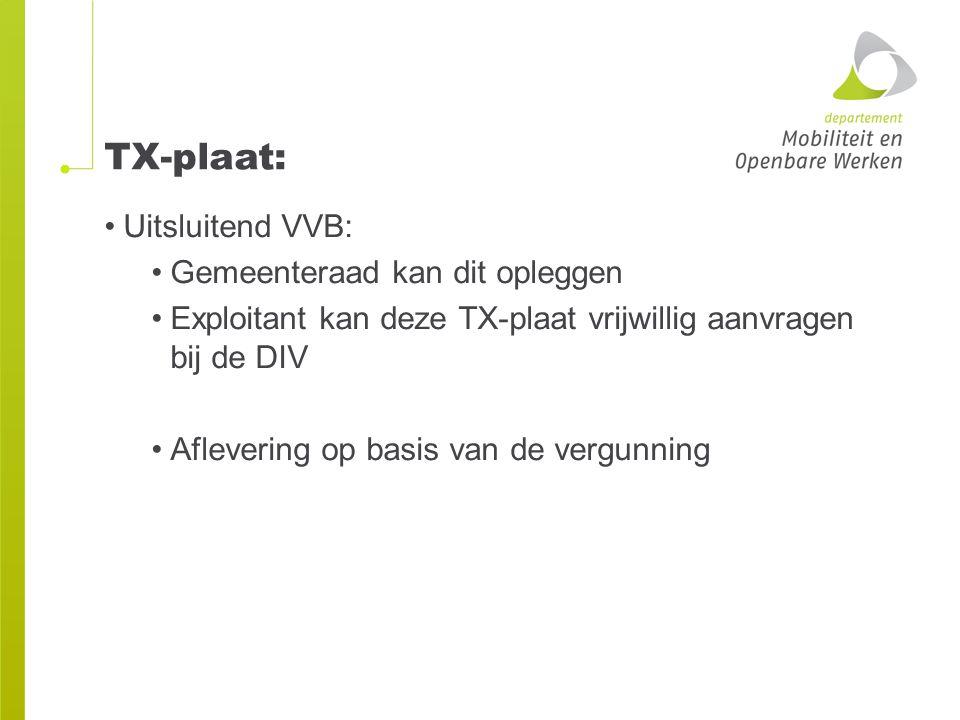 TX-plaat: Uitsluitend VVB: Gemeenteraad kan dit opleggen