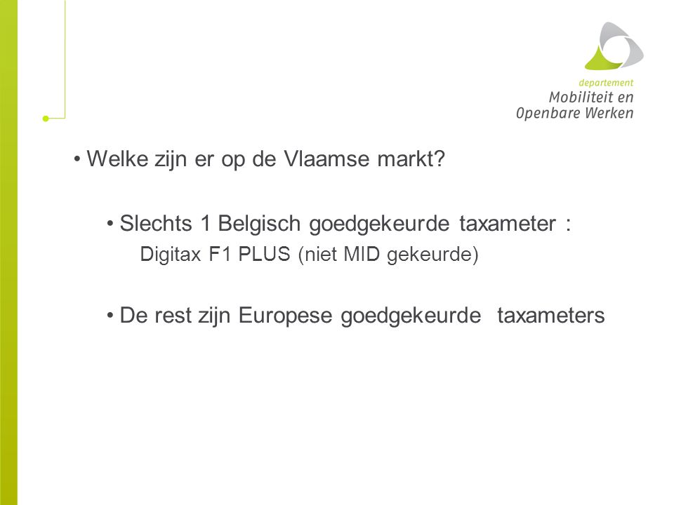 Welke zijn er op de Vlaamse markt