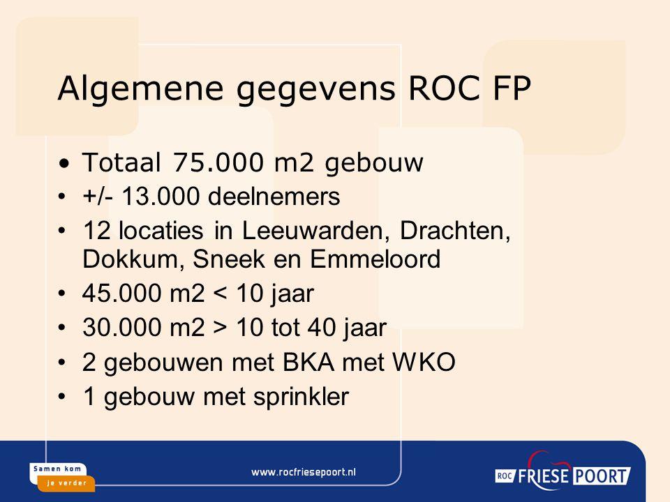Algemene gegevens ROC FP