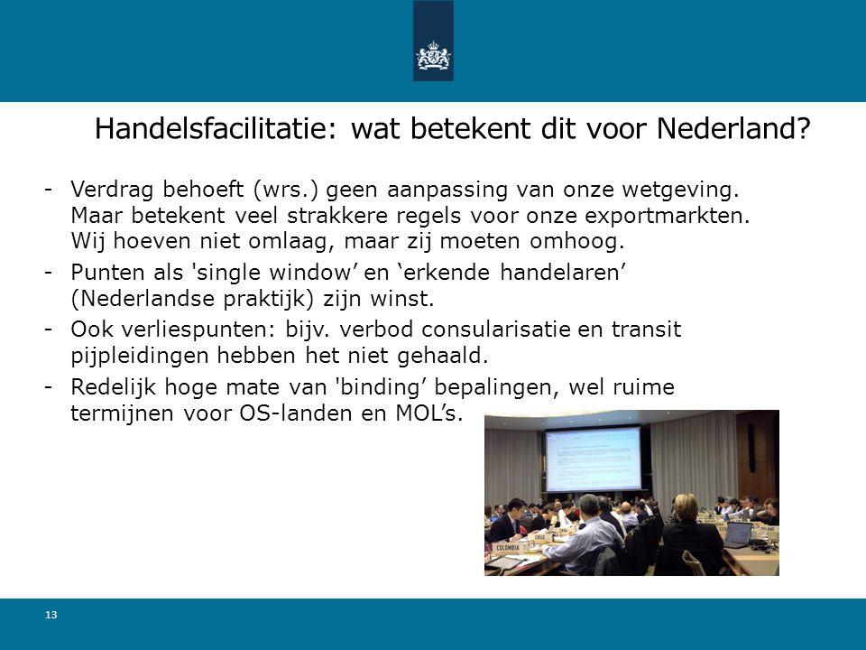 Handelsfacilitatie: wat betekent dit voor Nederland