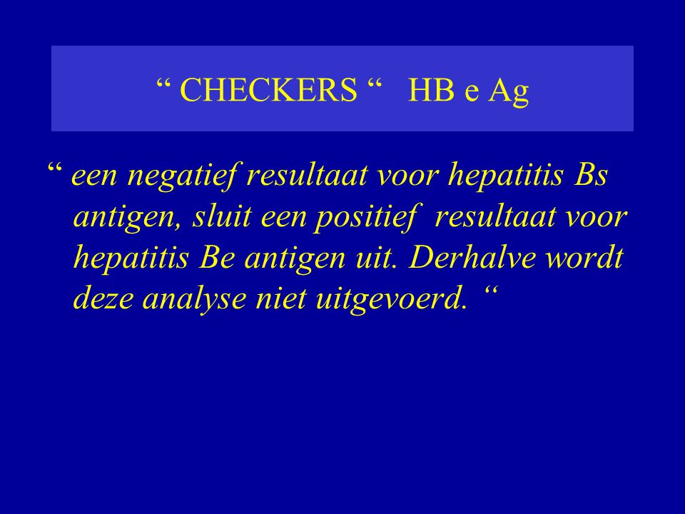 CHECKERS HB e Ag