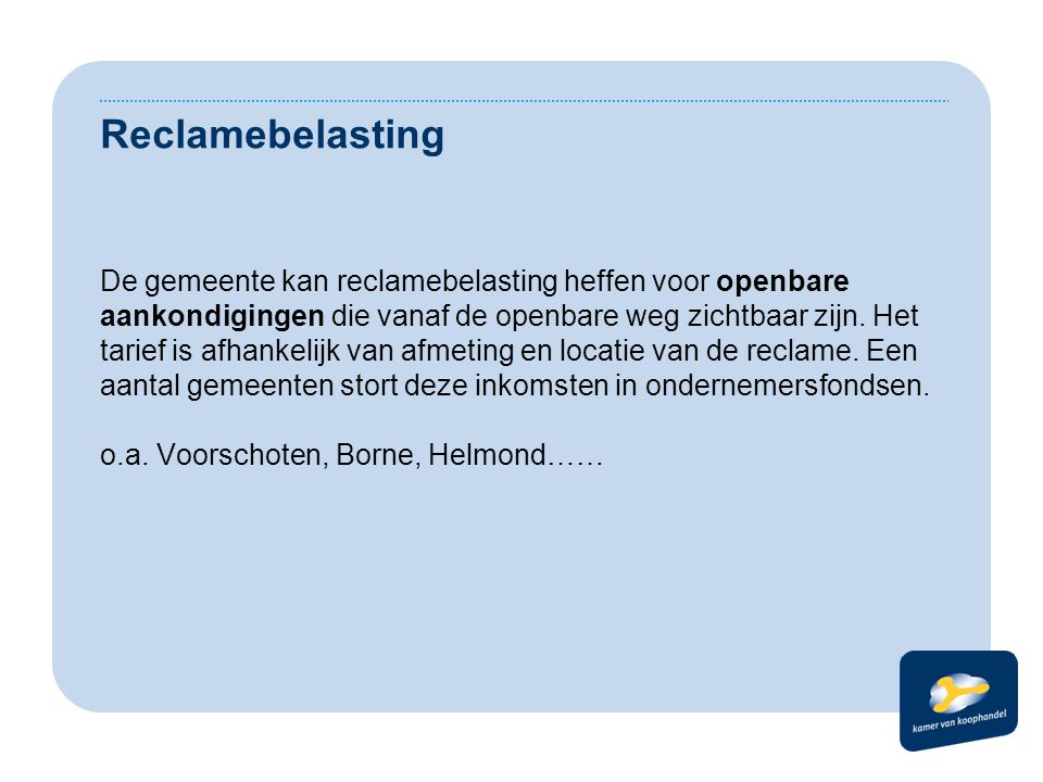 Reclamebelasting