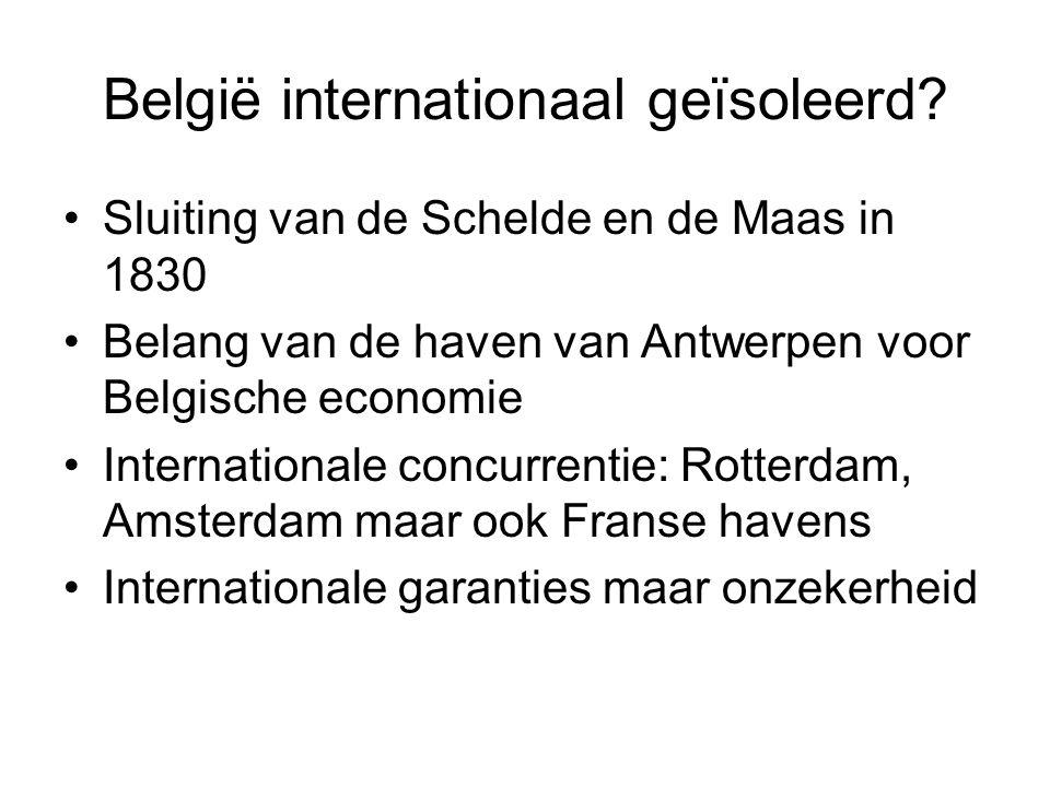 België internationaal geïsoleerd