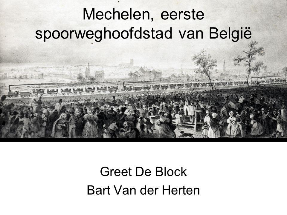 Mechelen, eerste spoorweghoofdstad van België
