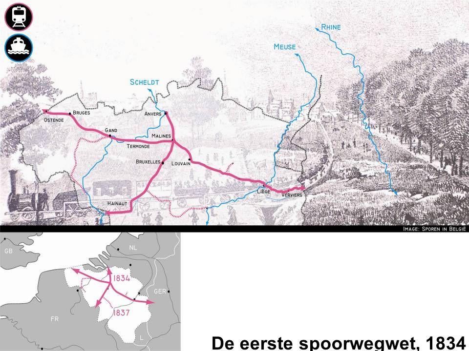 De eerste spoorwegwet, 1834