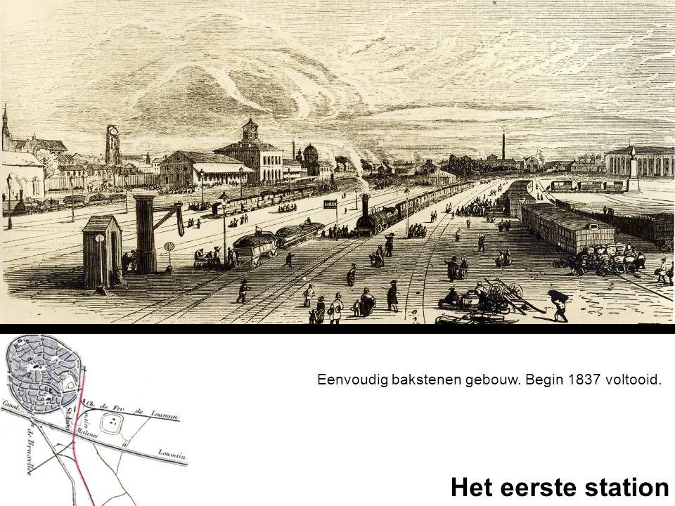 Eenvoudig bakstenen gebouw. Begin 1837 voltooid.