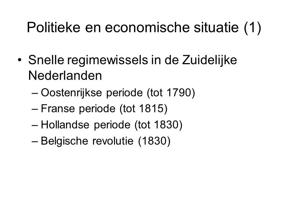 Politieke en economische situatie (1)