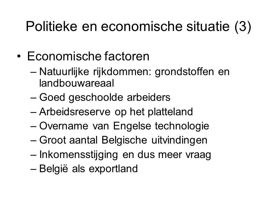 Politieke en economische situatie (3)