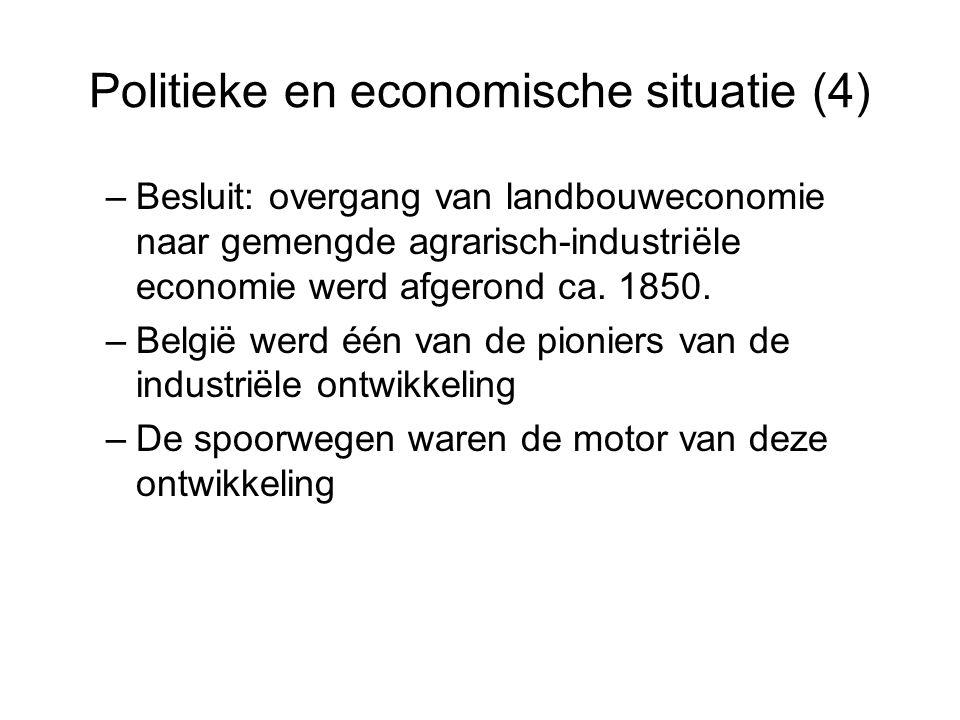 Politieke en economische situatie (4)