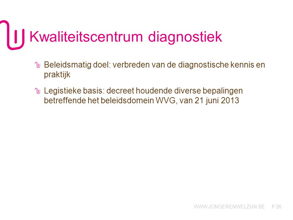 Kwaliteitscentrum diagnostiek