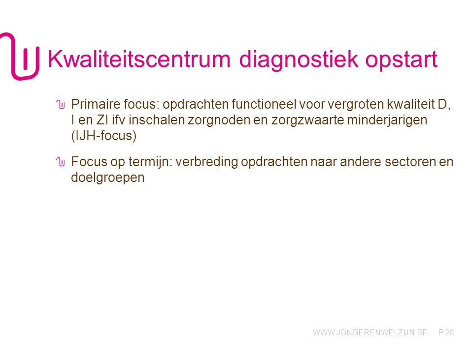Kwaliteitscentrum diagnostiek opstart