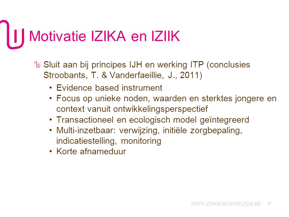 Motivatie IZIKA en IZIIK