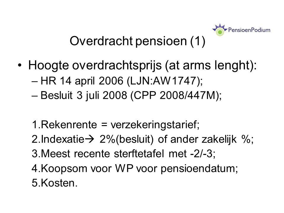 Overdracht pensioen (1)