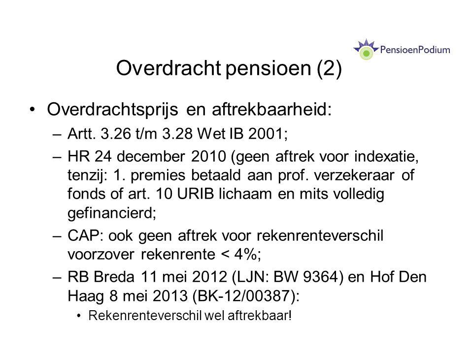 Overdracht pensioen (2)