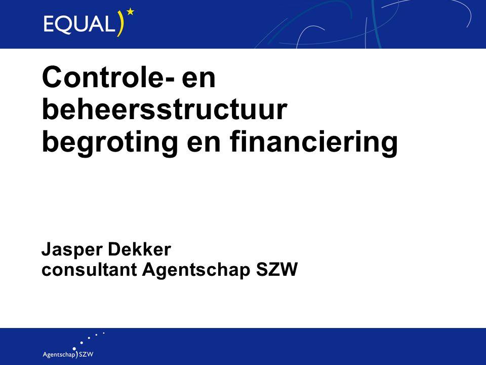 Jasper Dekker consultant Agentschap SZW