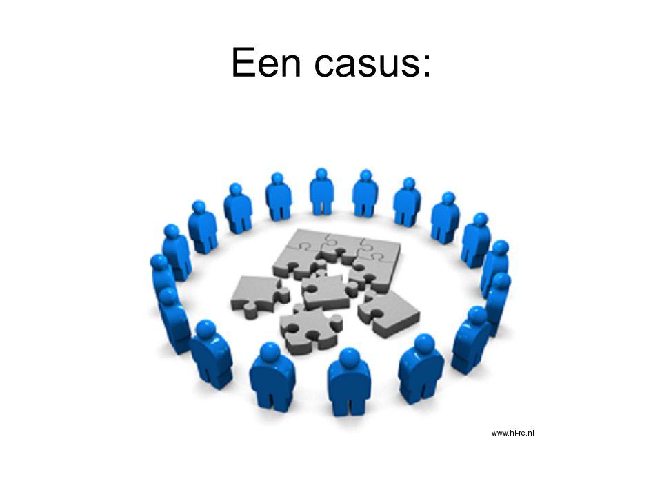 Een casus: