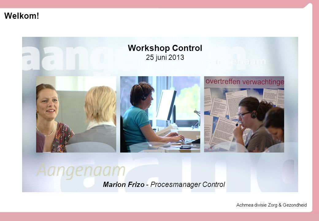 Marion Frizo - Procesmanager Control