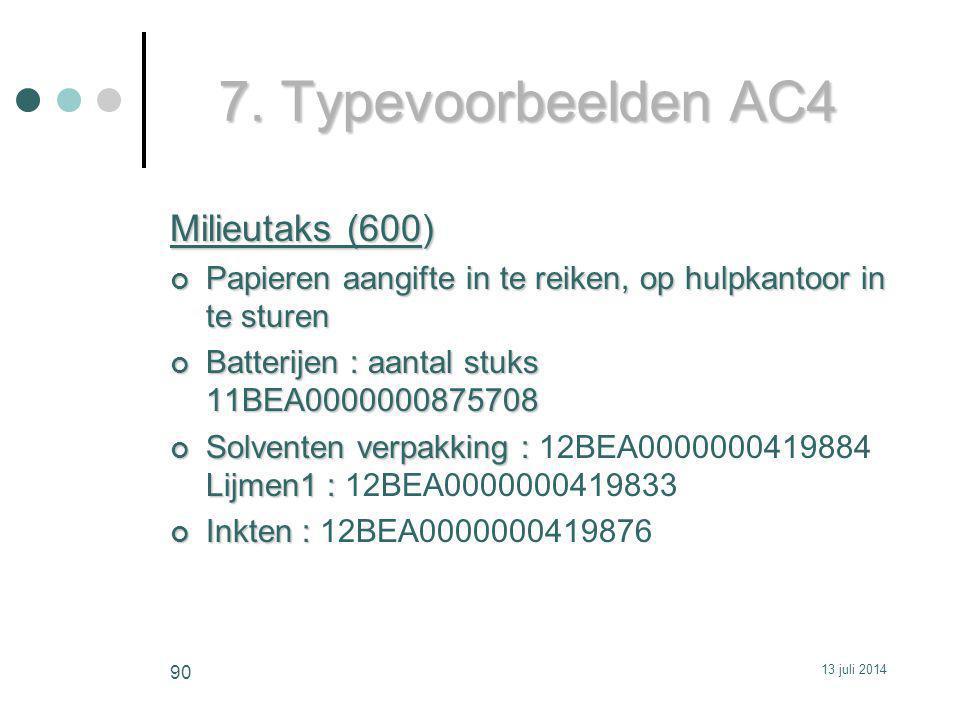 7. Typevoorbeelden AC4 Milieutaks (600)