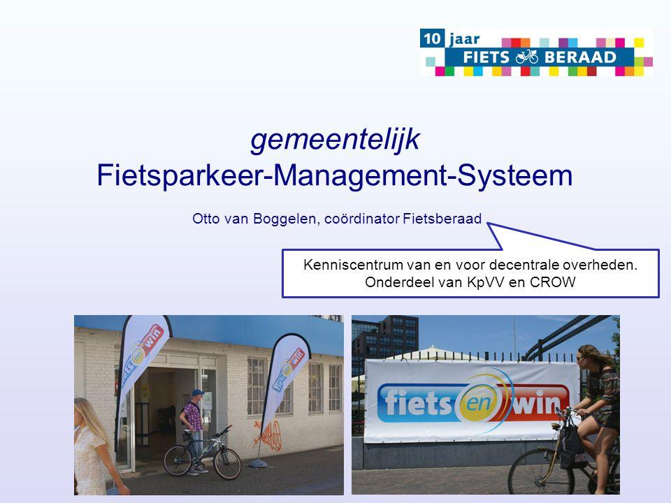 gemeentelijk Fietsparkeer-Management-Systeem