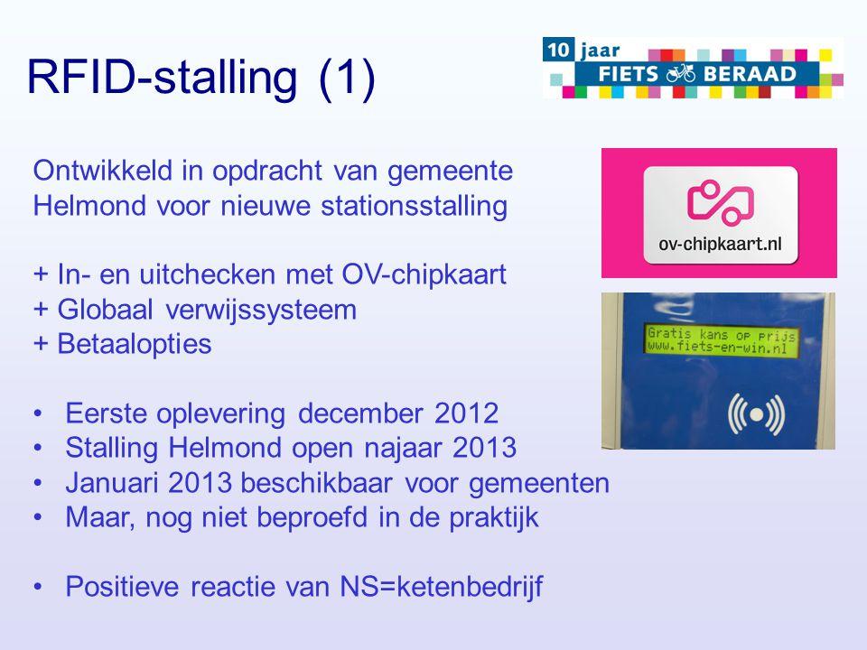 RFID-stalling (1) Ontwikkeld in opdracht van gemeente