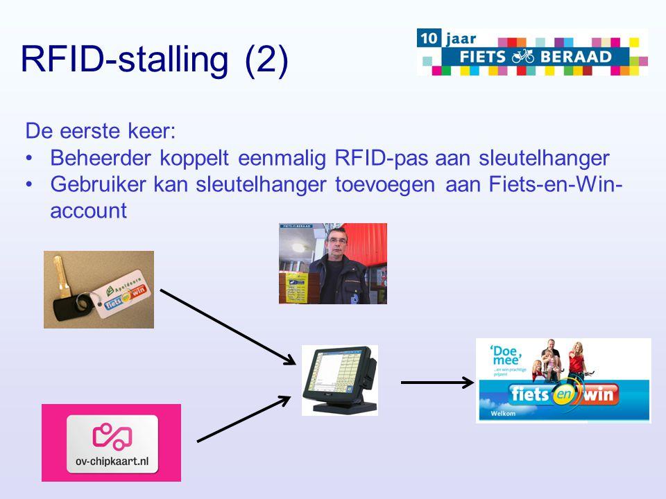 RFID-stalling (2) De eerste keer: