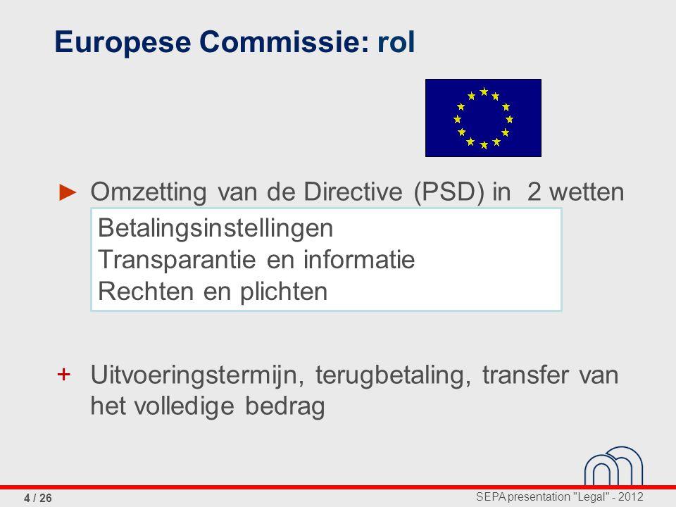 Europese Commissie: rol