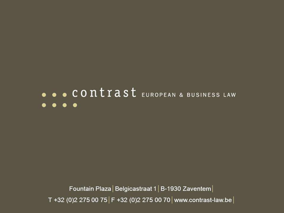 Fountain Plaza│Belgicastraat 1│B-1930 Zaventem│