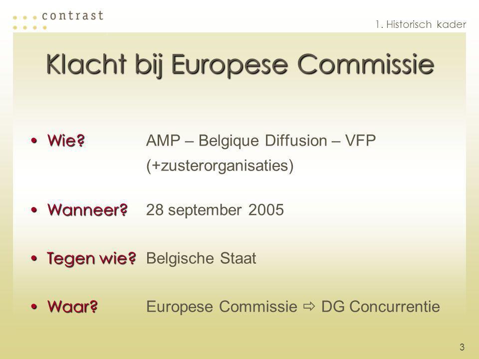 Klacht bij Europese Commissie