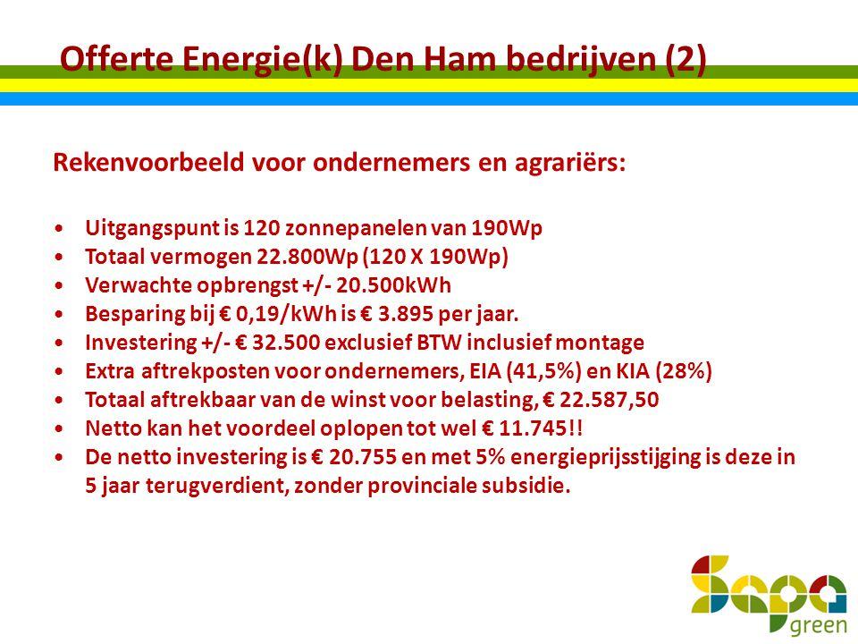 Offerte Energie(k) Den Ham bedrijven (2)