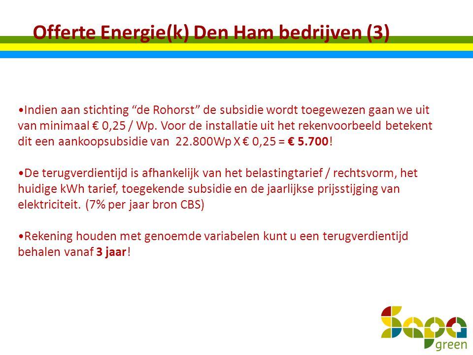 Offerte Energie(k) Den Ham bedrijven (3)