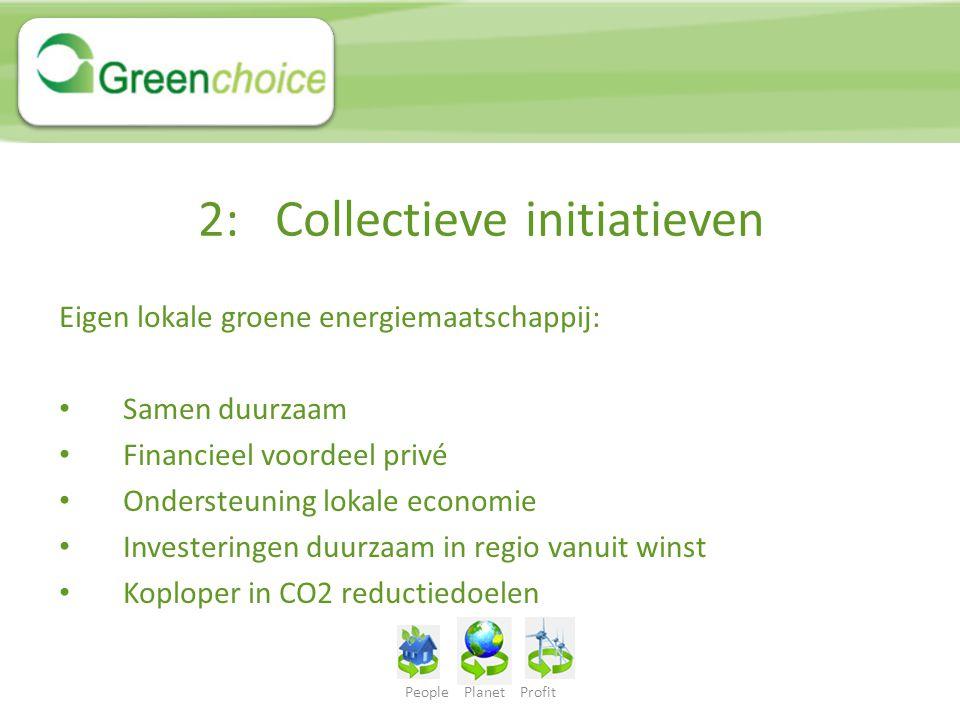2: Collectieve initiatieven