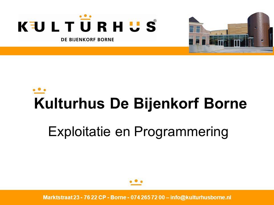 Kulturhus De Bijenkorf Borne