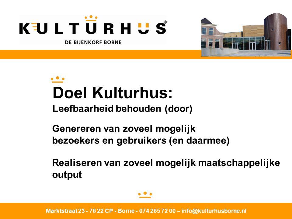 Doel Kulturhus: Leefbaarheid behouden (door)