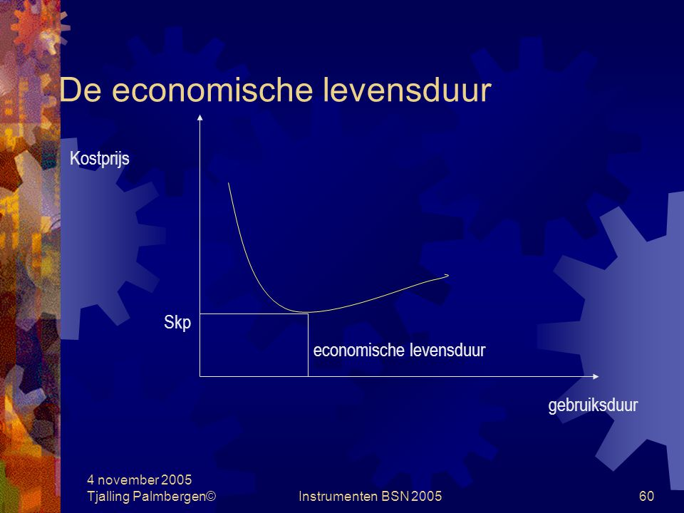 De economische levensduur