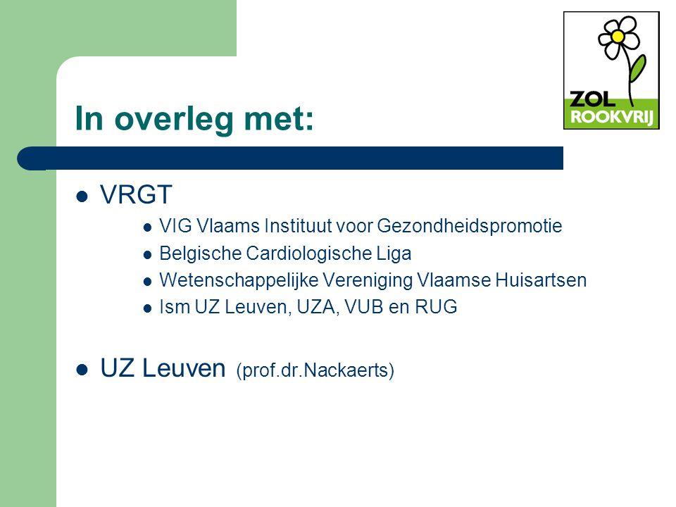 In overleg met: VRGT UZ Leuven (prof.dr.Nackaerts)