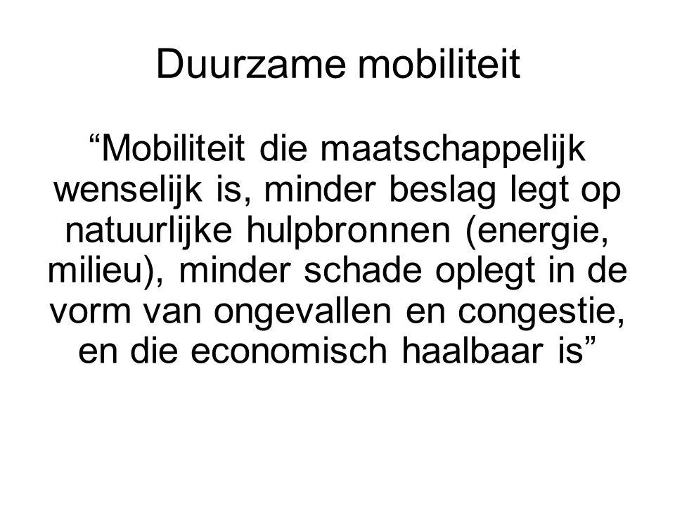 Duurzame mobiliteit