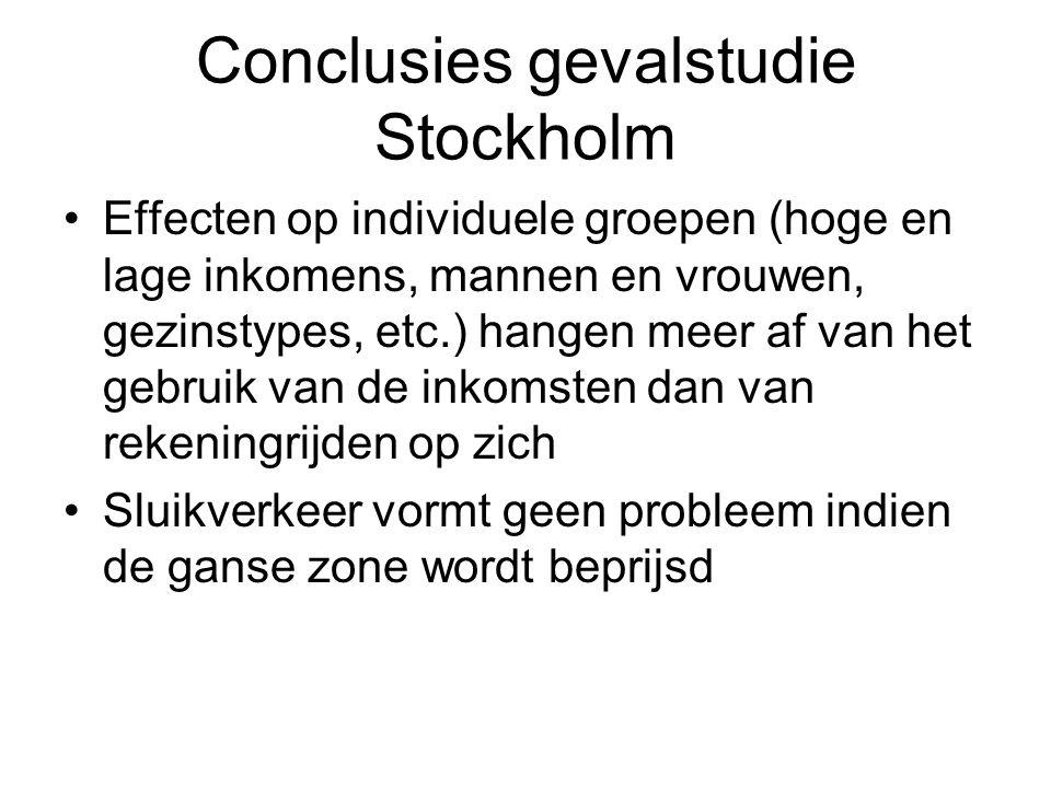 Conclusies gevalstudie Stockholm