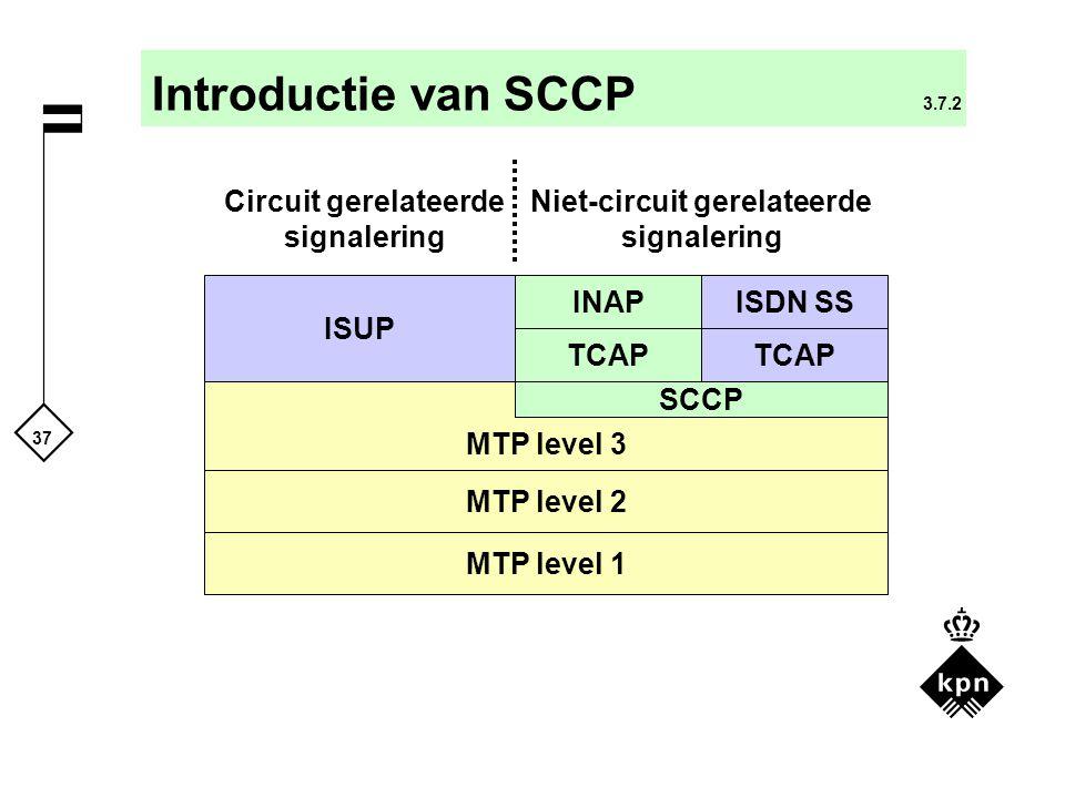 Circuit gerelateerde signalering Niet-circuit gerelateerde signalering