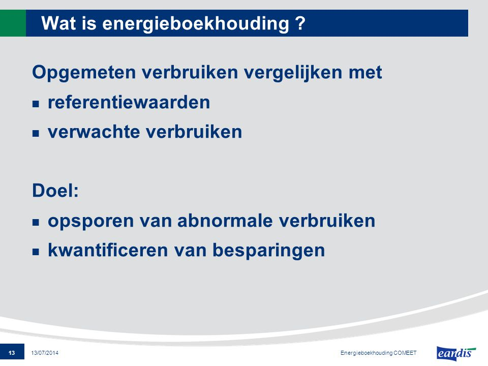 Wat is energieboekhouding