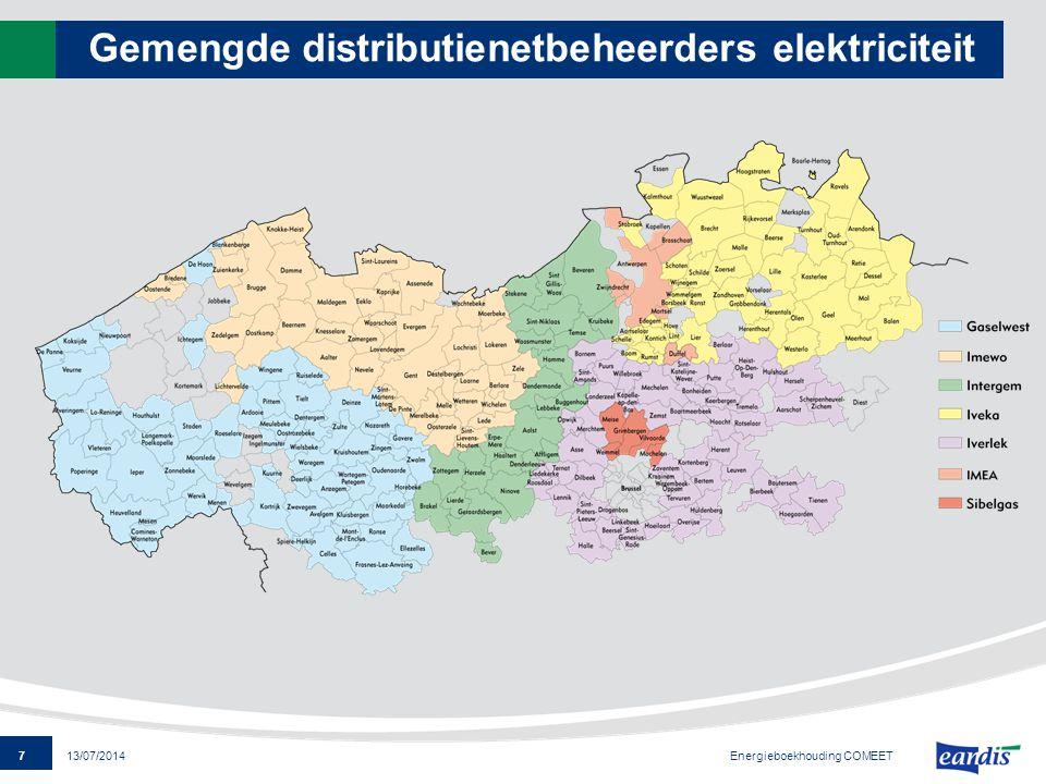 Gemengde distributienetbeheerders elektriciteit
