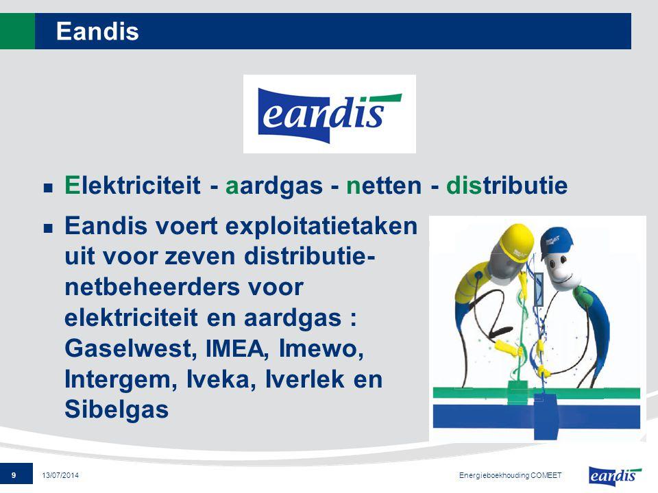 Elektriciteit - aardgas - netten - distributie