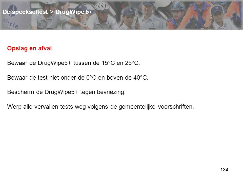 De speekseltest > DrugWipe 5+