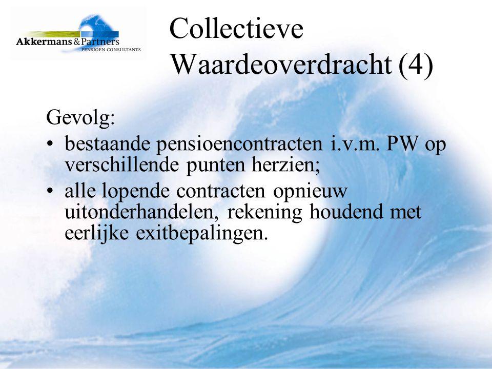 Collectieve Waardeoverdracht (4)