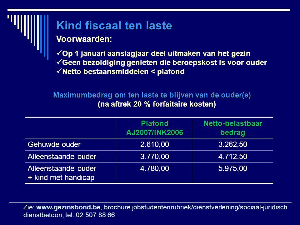 Netto-belastbaar bedrag