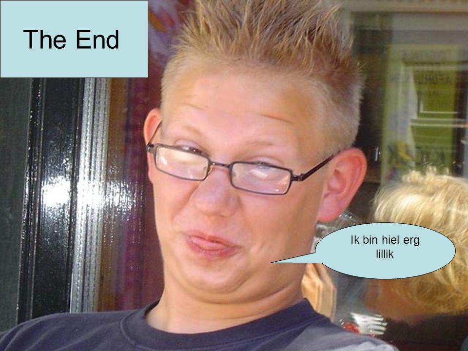 The End Ik bin hiel erg lillik