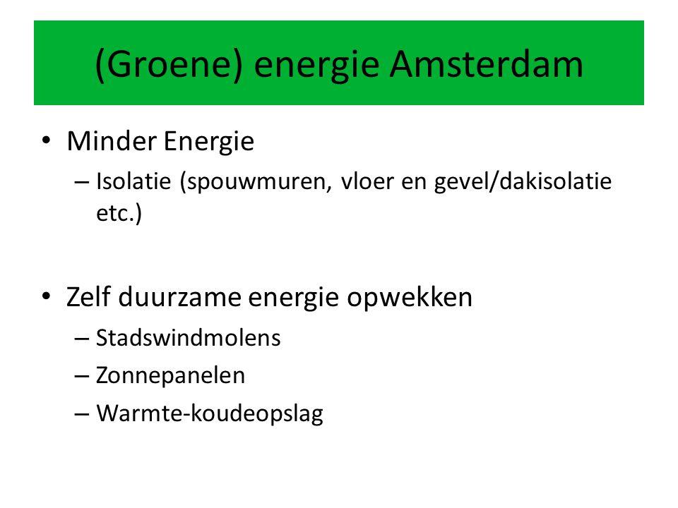 (Groene) energie Amsterdam